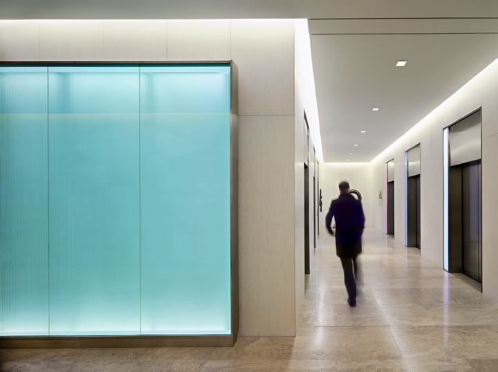 Mcla Rethinks The Elevator Bay For An Office Lobby In