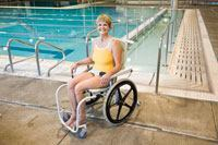 Mobile Aquatic Chair from Lincoln Equipment
