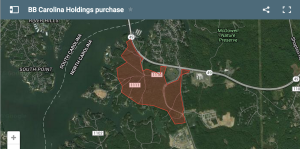 BB Carolina Holdings bought 200-plus acres from Crescent Communities