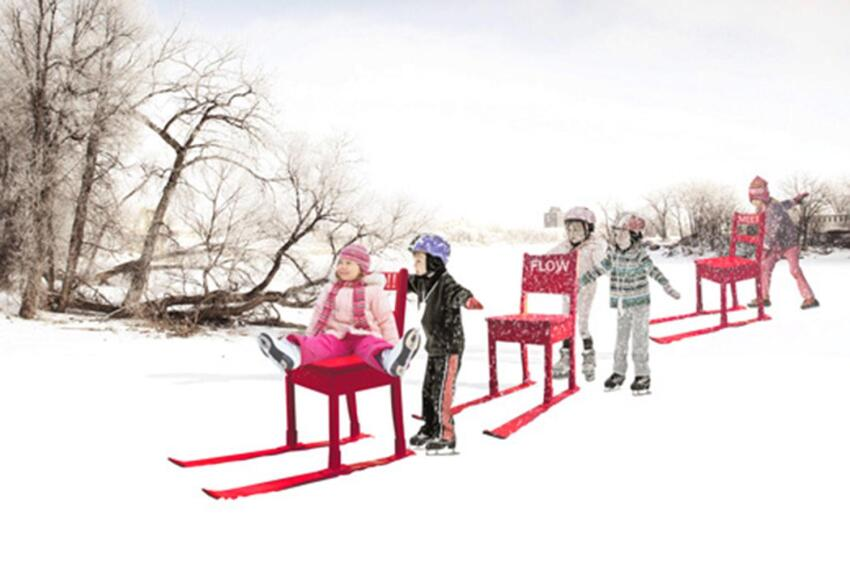 Three Cool Projects Selected in the 2015 Warming Huts Competition