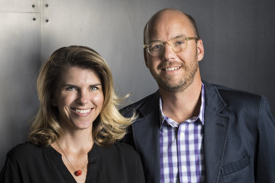 Melissa and Jacob Brillhart, of Brillhart Architecture.