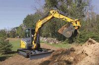 Manitou's Compact Excavators