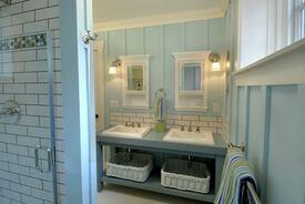 Charming Farmhouse-Style Bathroom Remodel
