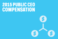 Public CEOs Averaged a 19% Comp Package Raise in 2015--Update