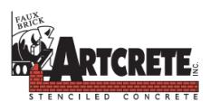 Artcrete, Inc. Logo
