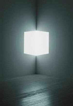 James Turrell, Afrum (White), 1966.