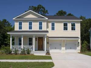 The Madison floor plan by Brock Built Homes as an inventory home in the Stonoview community.