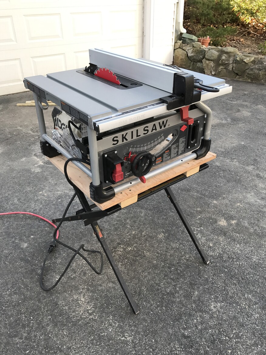 Worm Drive Table Saw Professional Deck Builder Table Saws