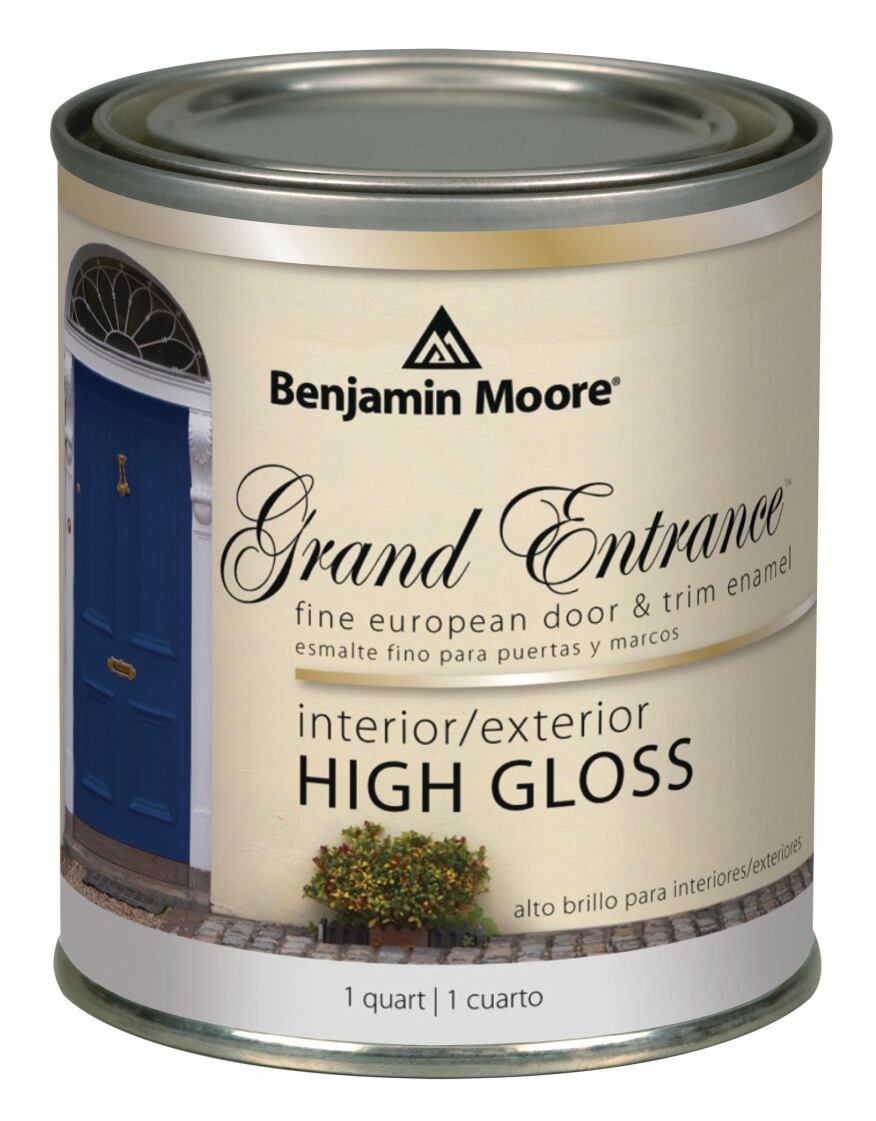 benjamin moore co 39 s grand entrance builder magazine products finishes and surfaces. Black Bedroom Furniture Sets. Home Design Ideas