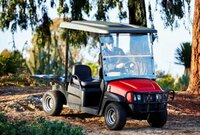 Multi-function grounds management vehicle