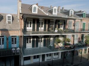 O'Byrne's firm designed the conversion of this former historic house in the French Quarter into condominiums. Her team's efforts to honor the building's historic elements paid off: In January, the project won an award of merit for historic preservation fr