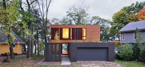 Redaction House, designed by Johnsen Schmaling Architects