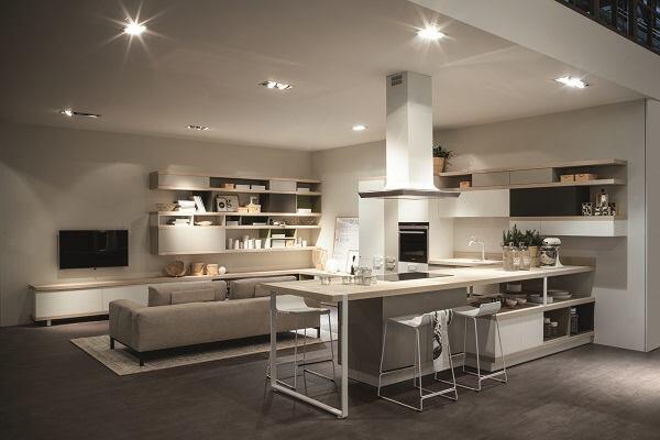 Ora-ïto's Foodshelf kitchen system.