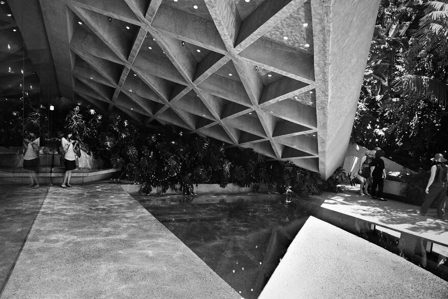 John Lautner's Sheats Goldstein Residence