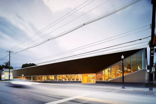 Columbus Metropolitan Library: Driving Park Branch, Columbus, Ohio, by NBBJ