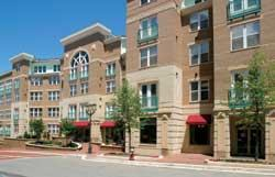 Trammell Crow's Alexan Reston Town Center in Reston, Va., offers 365 units of housing and 4,000 square feet of office and gallery space for a cultural arts group. The community is within walking distance of theaters, shops, and restaurants.