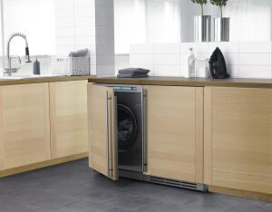 Asko. The W6903FI series full-size washer uses only 9.5 gallons of water per load or about 3,200 gallons a year. The unit achieves an MEF of 2.4 and a WF of 4.2 (33% and 78.5% better than 2009 thresholds, respectively). An internal heater produces optimal temperatures throughout the wash cycle while a 2,000-rpm spin cycle reduces the energy demand on the dryer. The 1.96-cubic-foot-capacity washer features stainless steel inner and outer tanks, and most components are rated for recycling. 800.898.1879.  www.askousa.com.