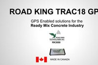 GPS Tracking for the Ready Mix Industry