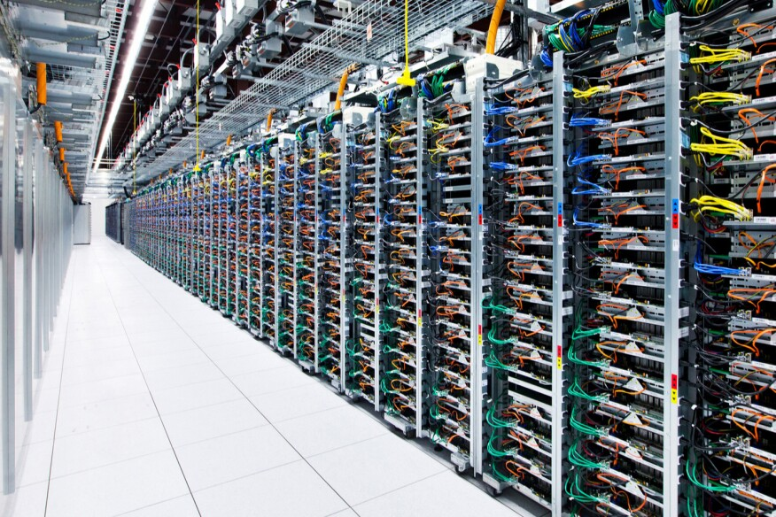 Google server racks big data and architecture