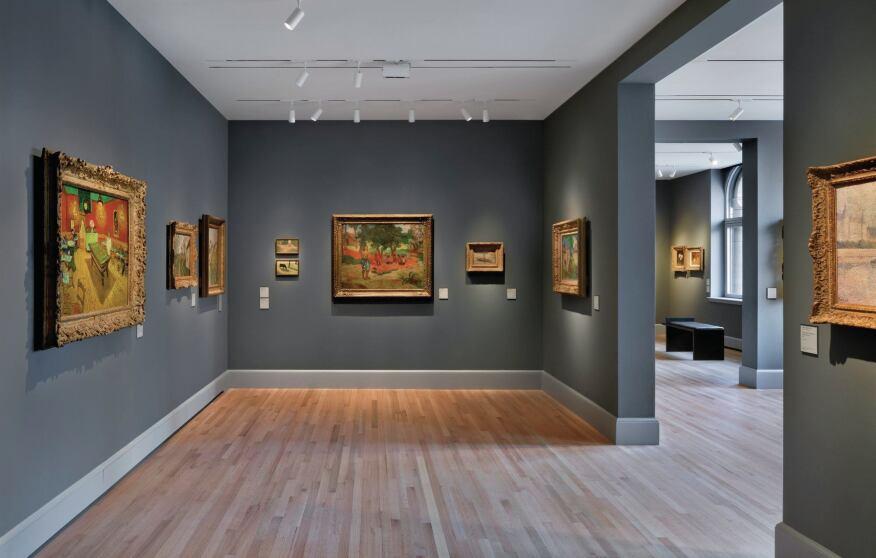 European art galleries.