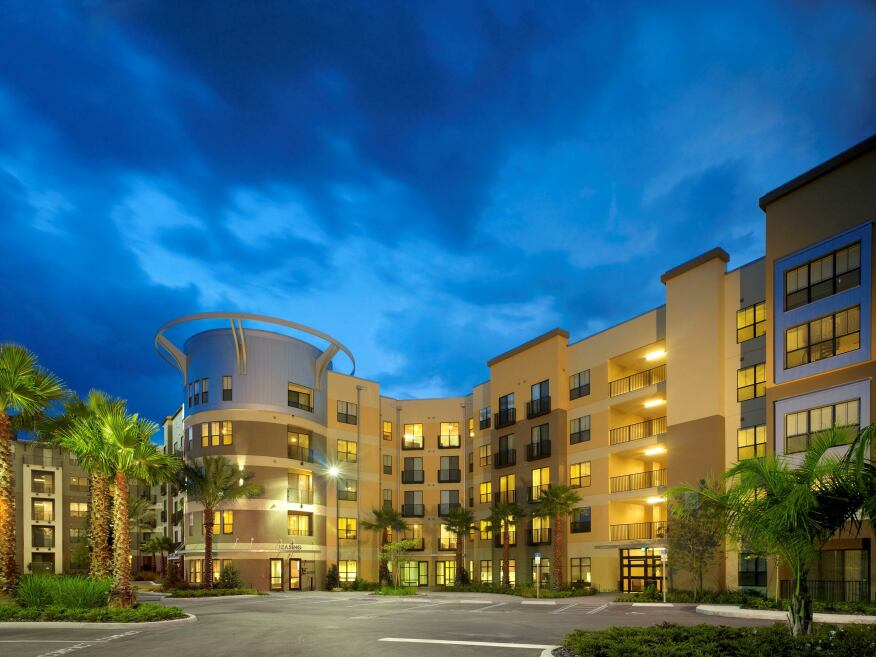 The 416-unit, 995-bed University House Central Florida, a 2013 MFE Awards winner, was fully pre-leased in early summer 2012, reflecting the popularity of and demand for off-campus, amenity-rich student housing in large universities across the country.