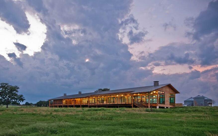 John Bunker Sands Wetland Center, Seagoville, Texas, by Good Fulton & Farrell