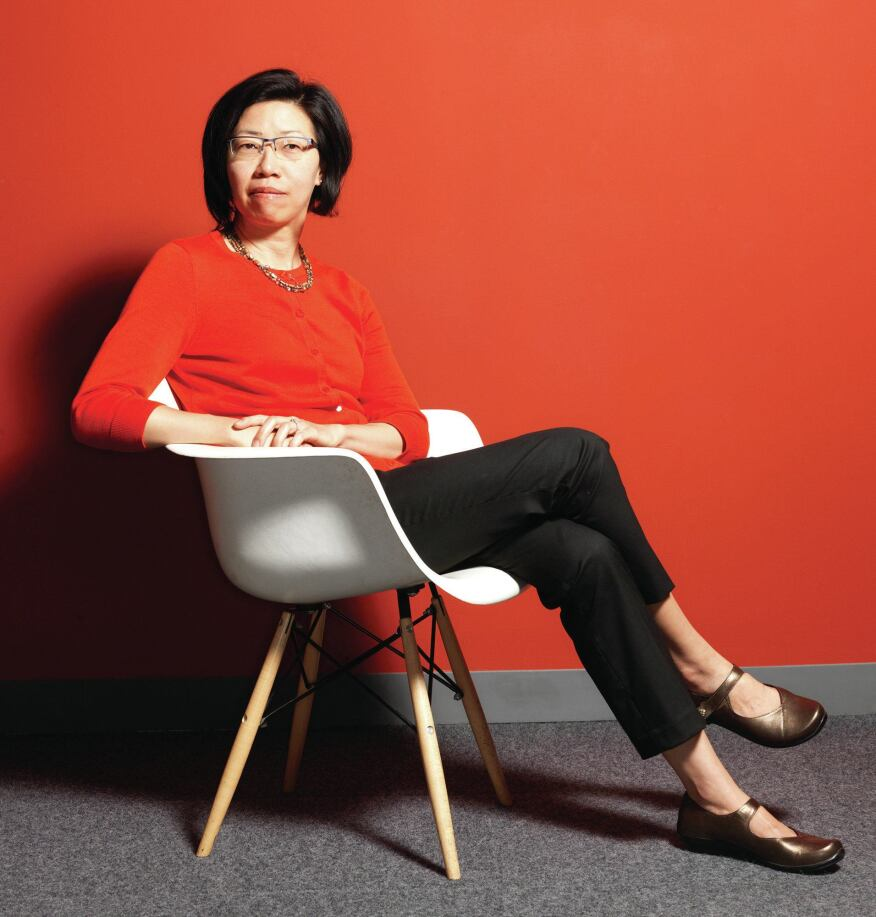 Rosa Sheng, AIA, chairperson of the Missing 32% Project