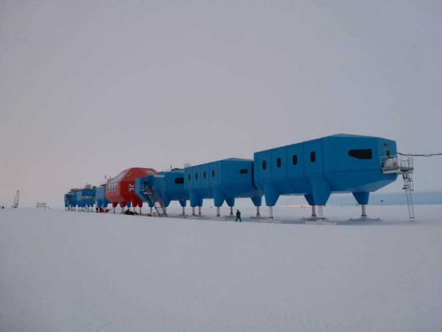 Halley VI from Northeast.