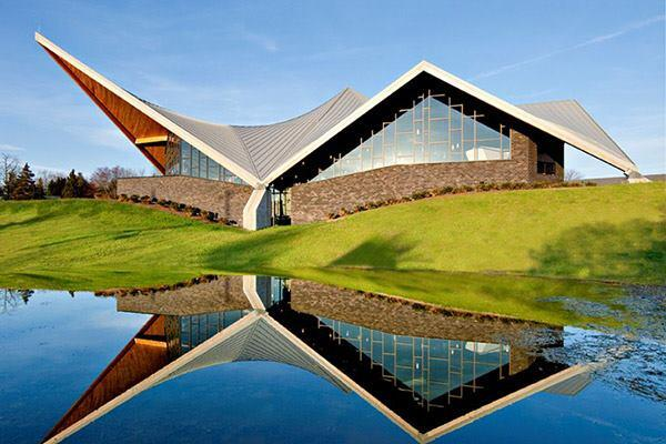 St. Aloysius Church in Jackson by Erdy McHenry Architecture.