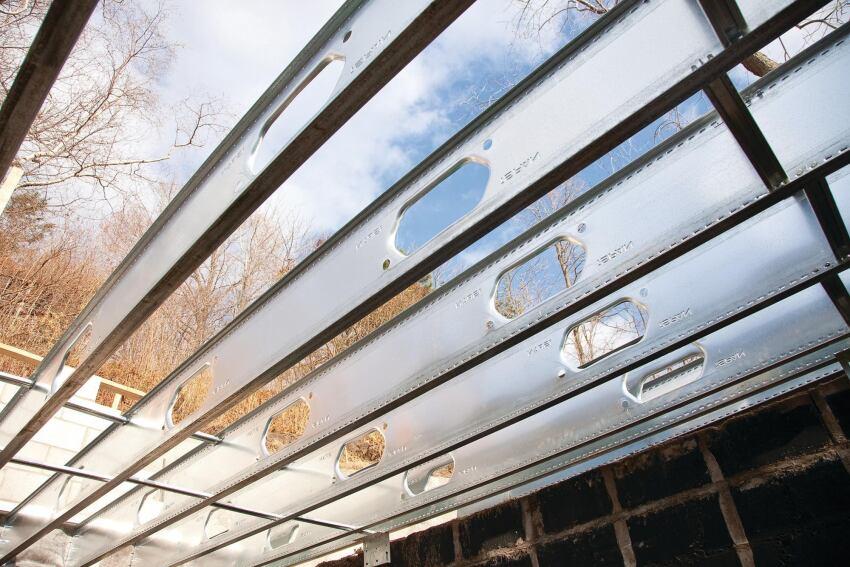 iSpan Steel Floor Joist Technology