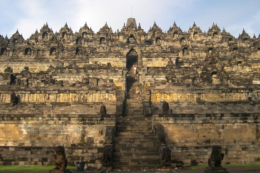 Borobudur, Indonesia.