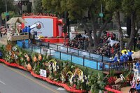 Behind the Rose Parade's Surfing Dogs and the Swimming Pool Connection