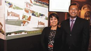 Minali Singh and Arindam Singh won an award for Whole Building Design.
