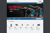 Bosch Power Tools North America Launches New Website
