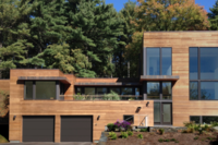 A Nine-Module Prefab Home Constructed in Four Months