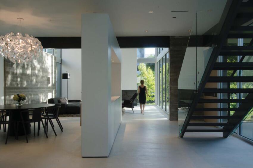 Tripartite House, Houston    Intexture Architects, Houston