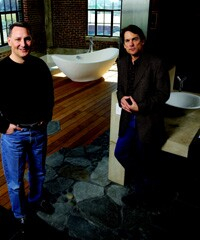 Partners Jay Simon (left) and Jeff Clark parlay their expertise in historic renovation, remodeling, and new construction into an exciting collection of building projects in St. Louis, Mo.