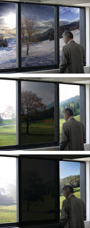 SageGlass, an electrochromic glass