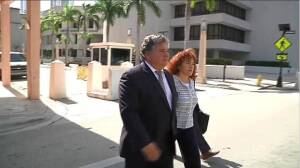 Rene Sierra on his way to court