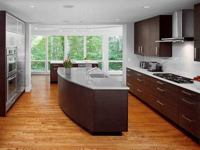 An Open Kitchen With Well-Defined Zones