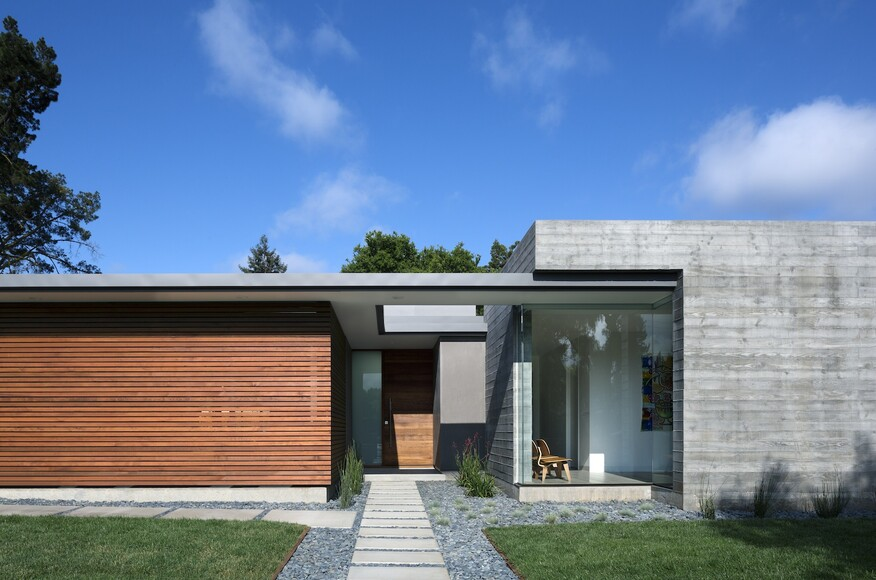 Modern Single Family Homes modeco | architect magazine | modern house architects, los altos