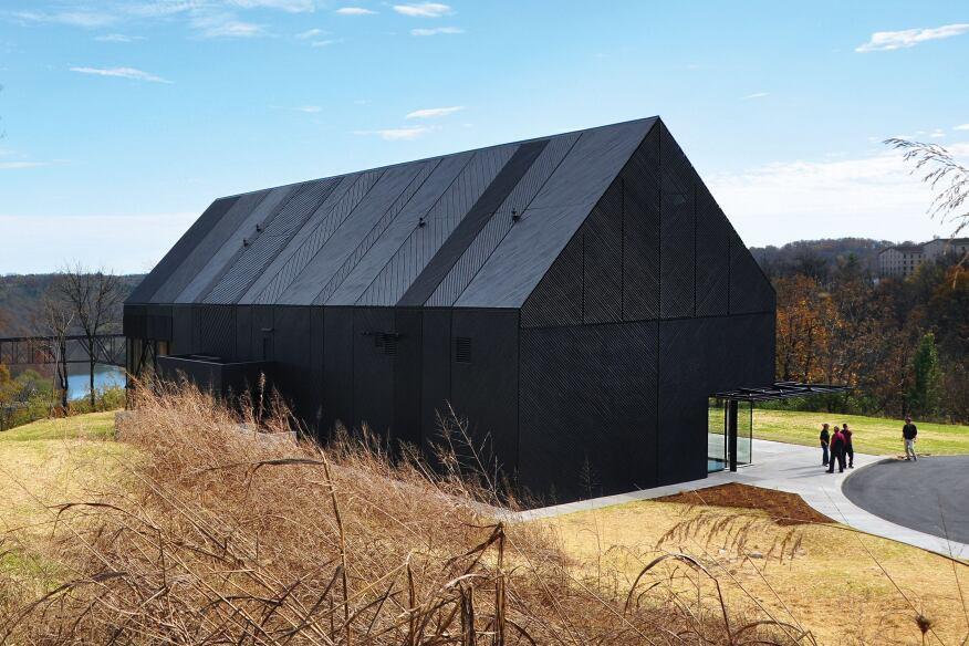 Wild Turkey Bourbon Visitor Center, Lawrenceburg, Ky., by De Leon & Primmer Architecture Workshop