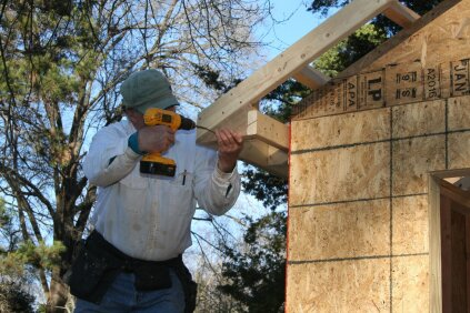 Framing eaves and rakes jlc online framing roof framing for How do you start building a house