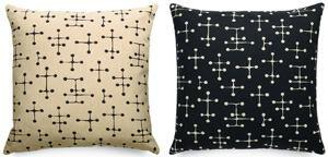 The Dot Pattern, shown here in two colors, has been licensed to Maharam, which uses it in contract textiles. A family-run business for four generations, Maharam has been producing textiles since 1902.
