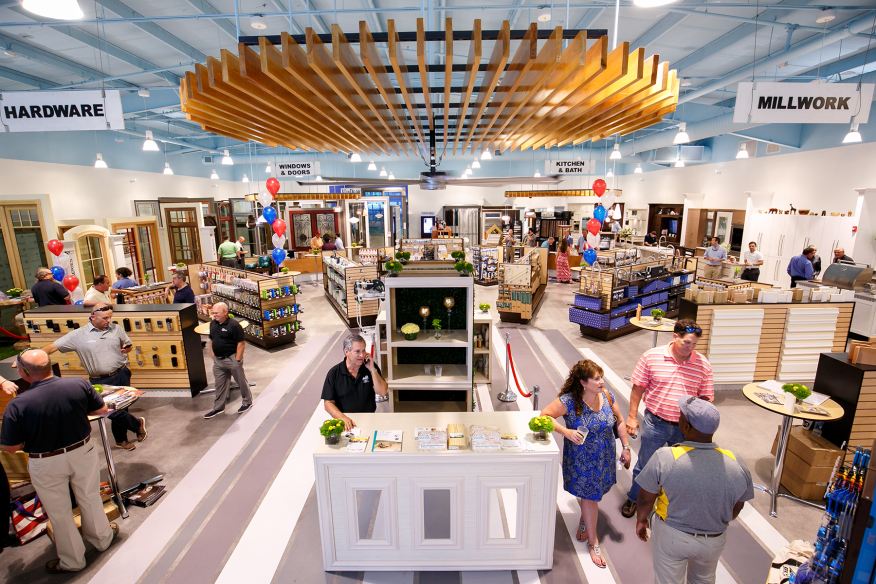 84 Lumber's new showroom in Riviera Beach, Fla., opened in June 2016