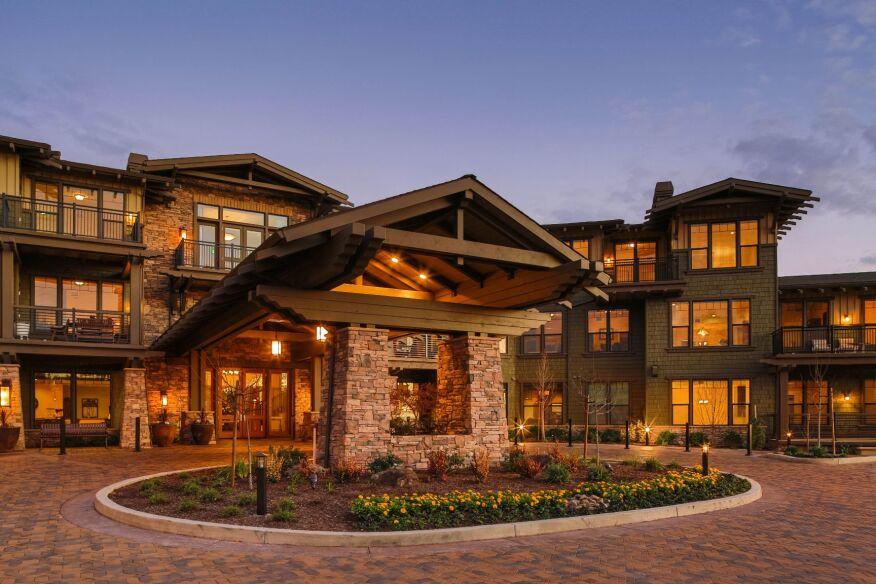 fountaingrove lodge oakmont senior living santa rosa calif - Senior Home Design