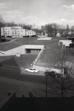 Below-Ground Books | Architect Magazine | Education Projects Landscape Architecture Retaining ...