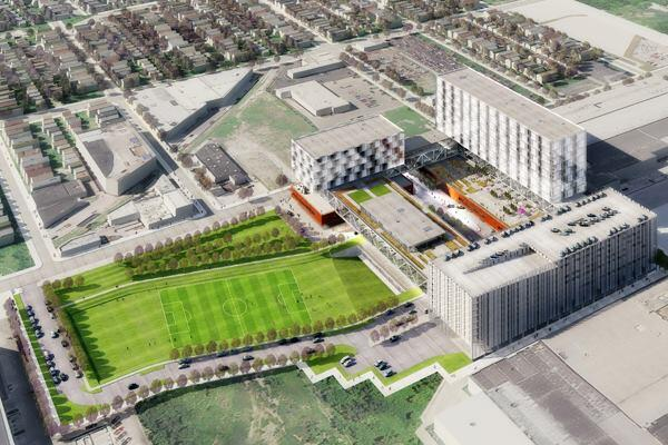 Focal Point Community Campus, Chicago, by HDR Architecture.