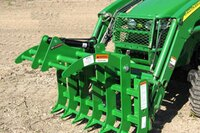 Worksaver attachments for John Deere loaders