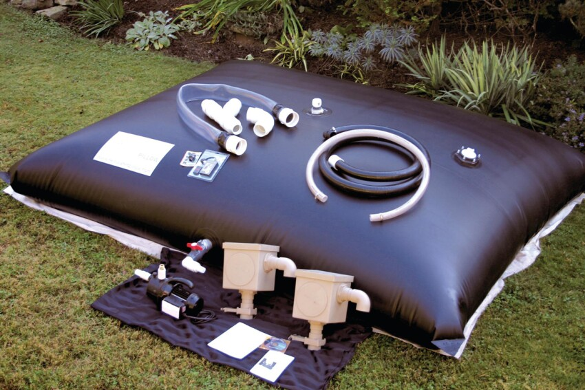Water Better: Rainwater Pillow Rainwater Collection System